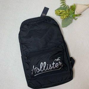 Black Hollister Backpack